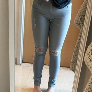 Express Jeans with Rips